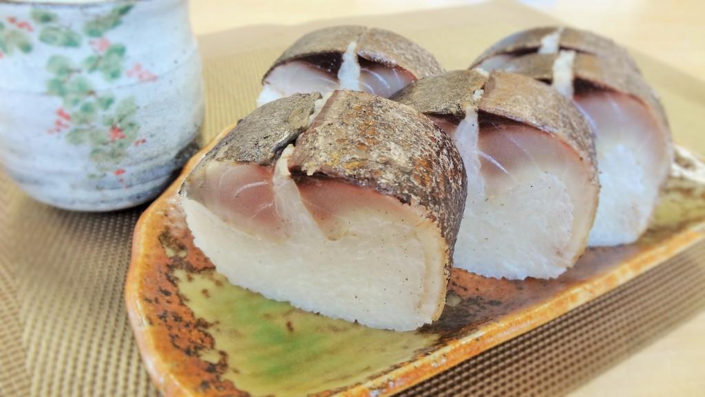 鯖の専門店のあぶり鯖寿司