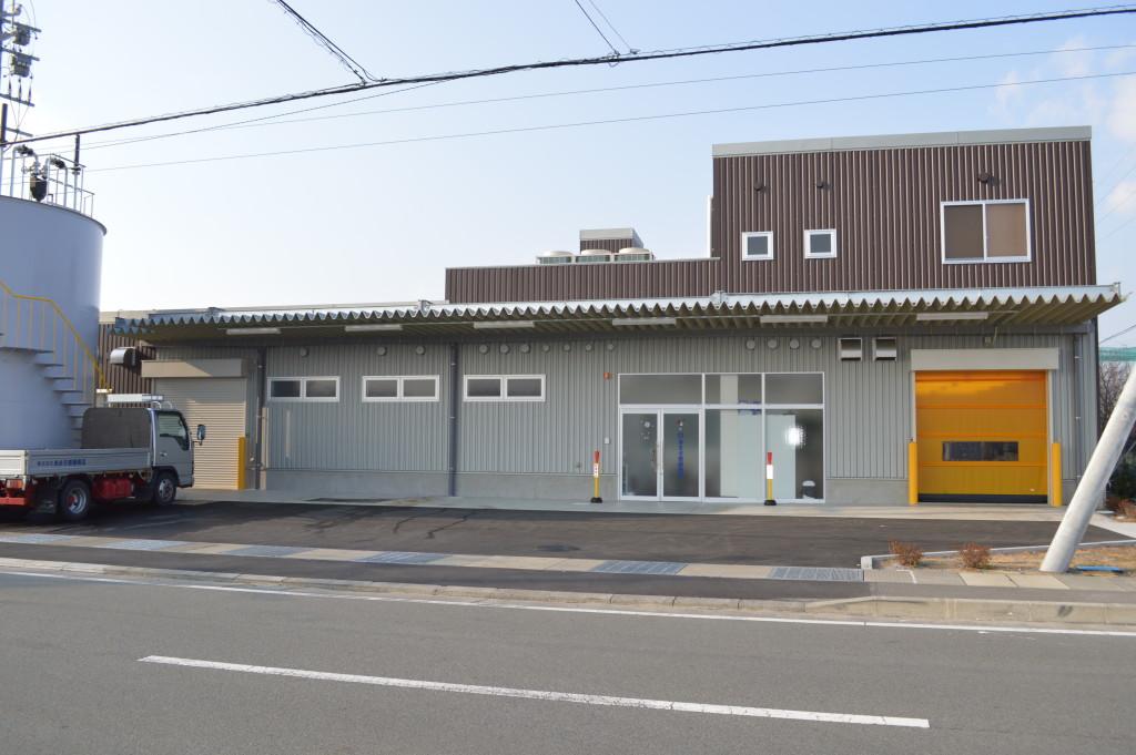 鯖の専門店・あまる齋藤商店・新社屋