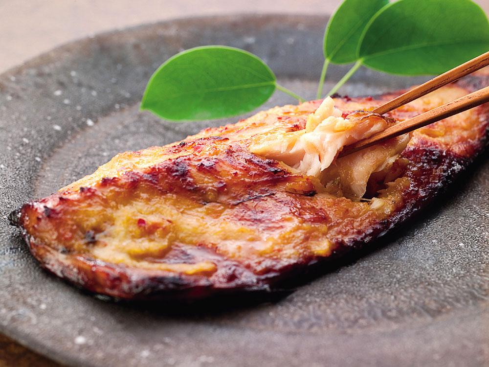鯖の味噌焼き